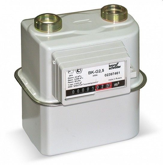 Счетчик газа Гранд  G-6 1 (Ду25) тк