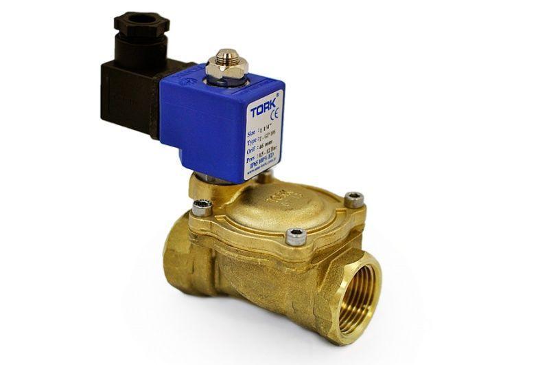 Клапан SCE210D095 230/50AC соленоидный 2/2 НЗ, Rp3/4