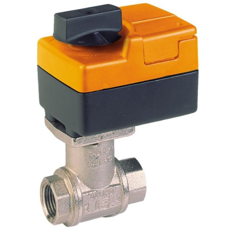 Клапан регулирующий трехходовой, под электропривод Belimo NV 230-3 (800 Н)